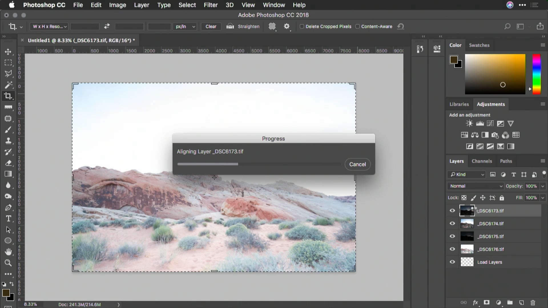 Weekend learning: Working with layers and multiple photos