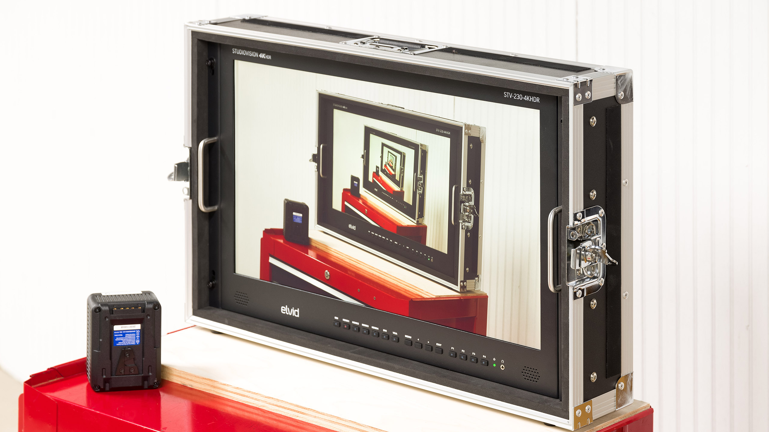 Elvid StudioVision 4K HDMI Monitor with HDR for field and studio