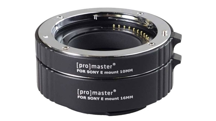 Extension tubes ProMaster Sony E