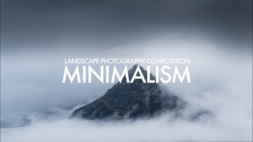 Landscape photography tip: Use minimalist composition