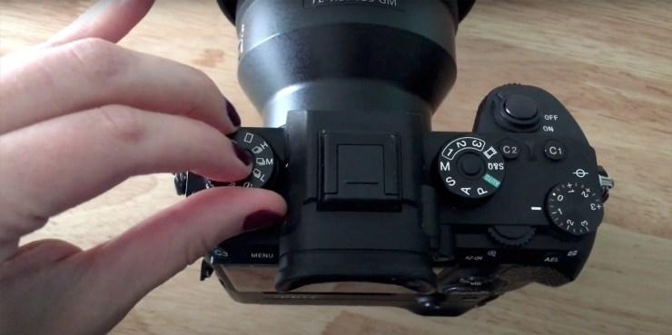 Sony autofocus burst mode