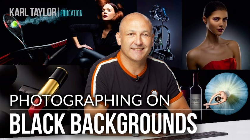 How to use a Black Background for Any Type of Photography 📸 - youtube