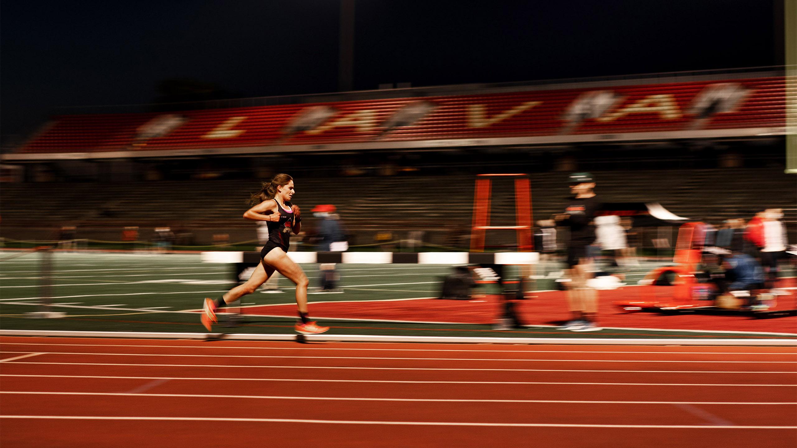 Long exposure runner track