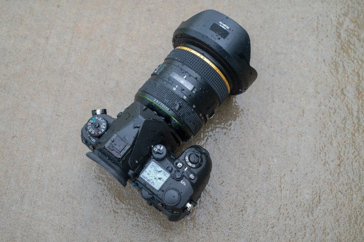 The Pentax K3 III is weather sealed