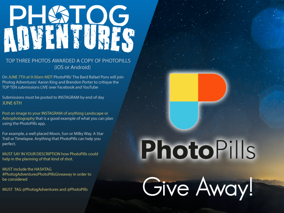 Image of PhotoPills Contest Rules