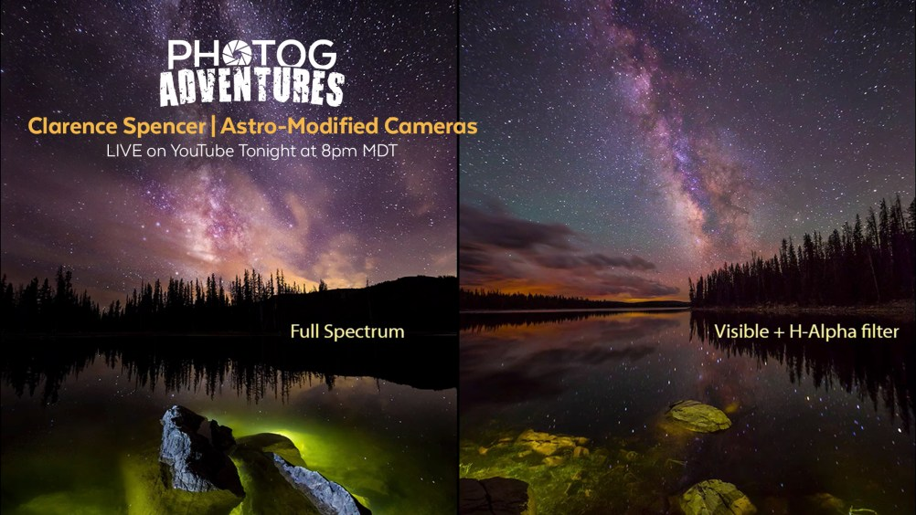 PODCAST 90: Clarence Spencer | Talking Astro-Modded Cameras for Milky Way Photography