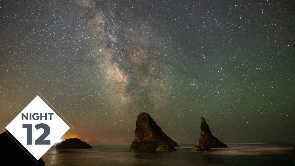 Milky Way Photography over the Ocean at Face Rock, Bandon Oregon for Night 12! | #TheGreatMilkyWayChase Vlog