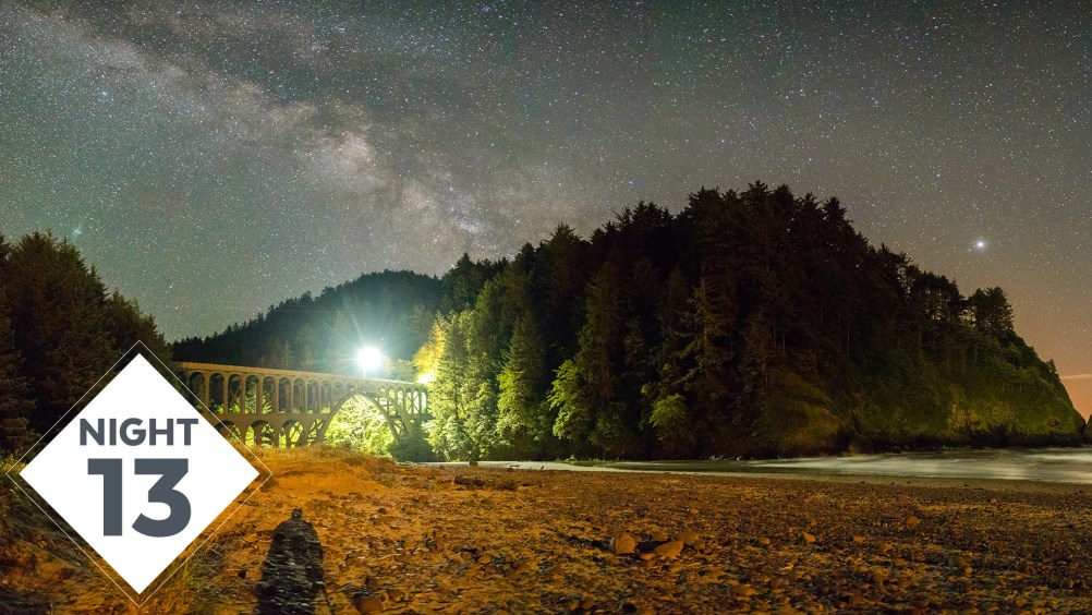 Night 13 at Thor's Well, Heceta Head Lighthouse Milky Way Photography | #TheGreatMilkyWayChase Vlog