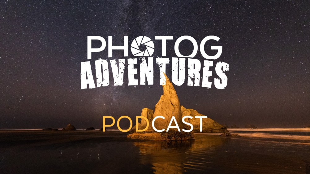 PODCAST 102: Oregon Coast Listener Adventure Pt. 1 | Milky Way at Secret Beach, Natural Bridges & Bandon