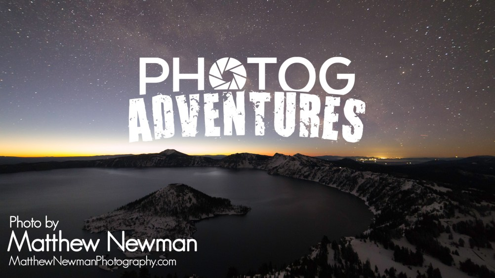 PODCAST 103: Matt Newman | 2018 Astronomy Photog Winner & a Frostbit February Milky Way at Crater Lake | PATREON ONLY