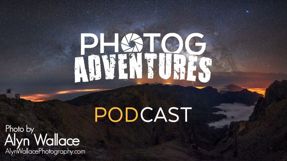 PODCAST 101: Alyn Wallace | Milky Way Photography in Europe & a challenging Mark Gee-like telephoto Moon | PATREON ONLY
