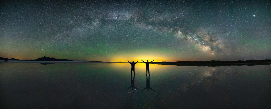 Amazing Milky Way Photography Panoramas out in the Salt Flats!