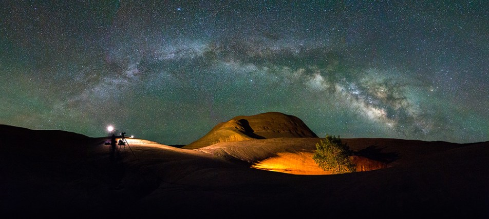 Low-level lighting Astrophotography in Escalante National Monument!