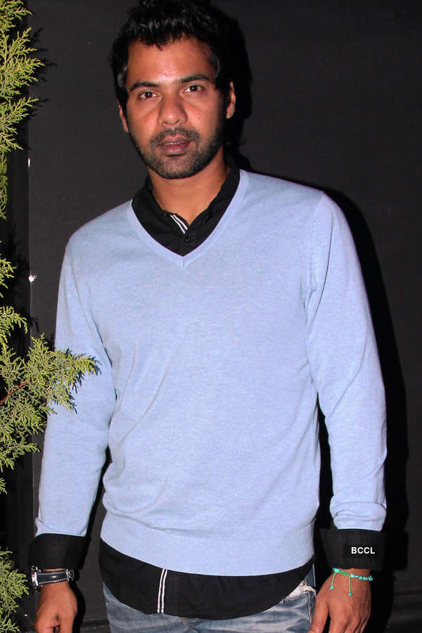 Shabbir Ahluwalia During Actor Sachiin J Joshis Birthday Party Held At Nido Mumbai On August