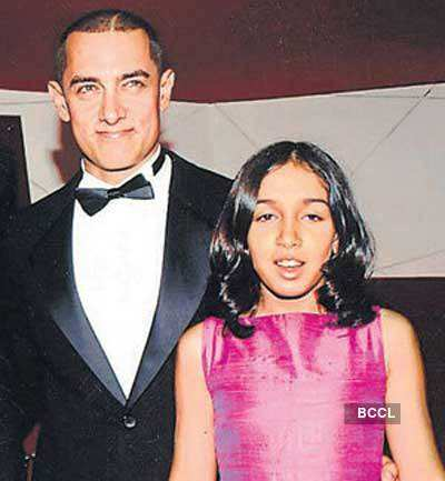 Image result for aamir khan baby daughter