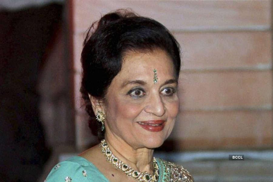 Asha Parekh never got married