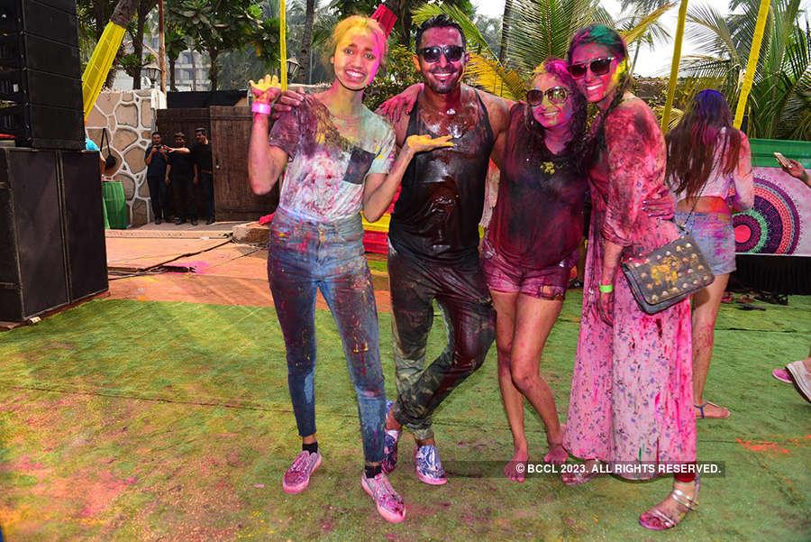 Vineet Jain's Holi Party 2018 - 2