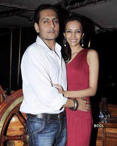 Dipannita Sharma And Husband Dilsher Singh Atwal At Their Newly Bought Shazma Yacht In Mumbai