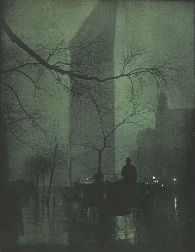 Edward Steichen - The Flatiron -Evening - Photogravure