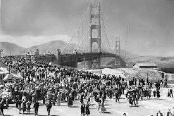 Golden Gate Bridge's 1937 debut: An awe-inspiring archive find for ...