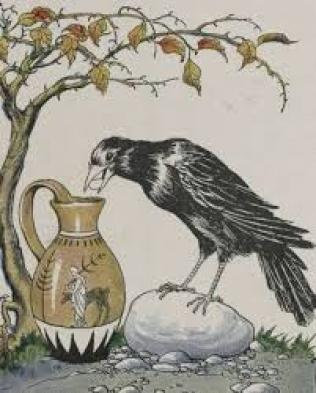 The Crow and the Pitcher - Wikipedia