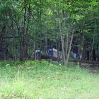 camping at Willow Bay
