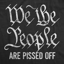 We The People Are Pissed Off Men's Tshirt – Crazy Dog T-Shirts