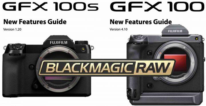 Fujifilm and Blackmagic offer you Blackmagic Raw (BRAW) recording on the GFX cameras.