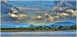 Clouds Along the River by Marcia Nye