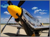 P51_Mustang_as_it_readies_for_Flight by John_Tarsha