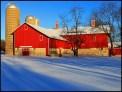 Red_Barn_in_Snow by John_Tarsha