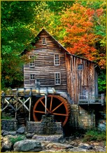 Stepping Stones to the Mill by Pam Havlicek