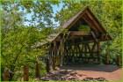 Riverwalk Covered Bridge by Elaine Fisher