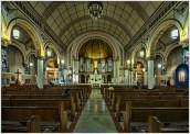 San Antonio Church by Marcia Nye