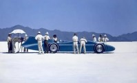 Bluebird at Bonneville print Jack Vettriano
