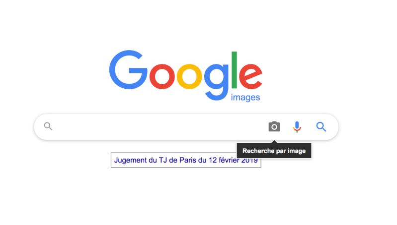 recherche image vol google