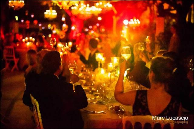 repas du mariage Grand hôtel du Cap Ferrat