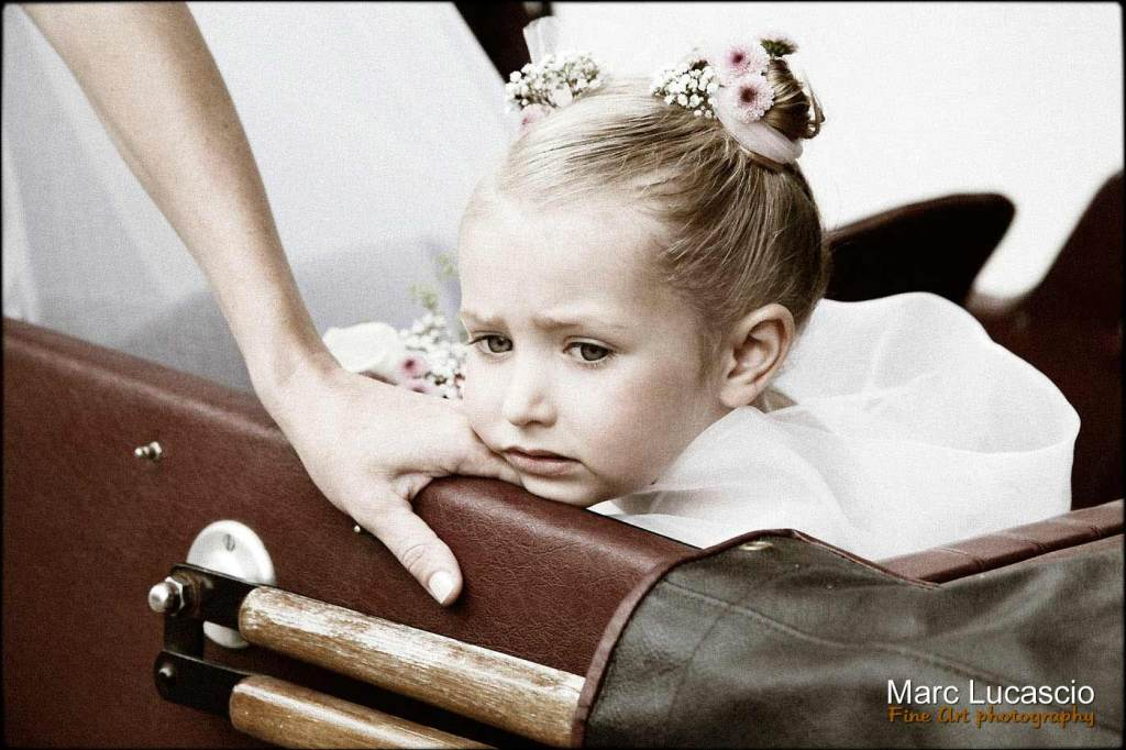 beau portrait d'enfant