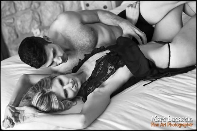 Osez la photo boudoir en noir et blanc