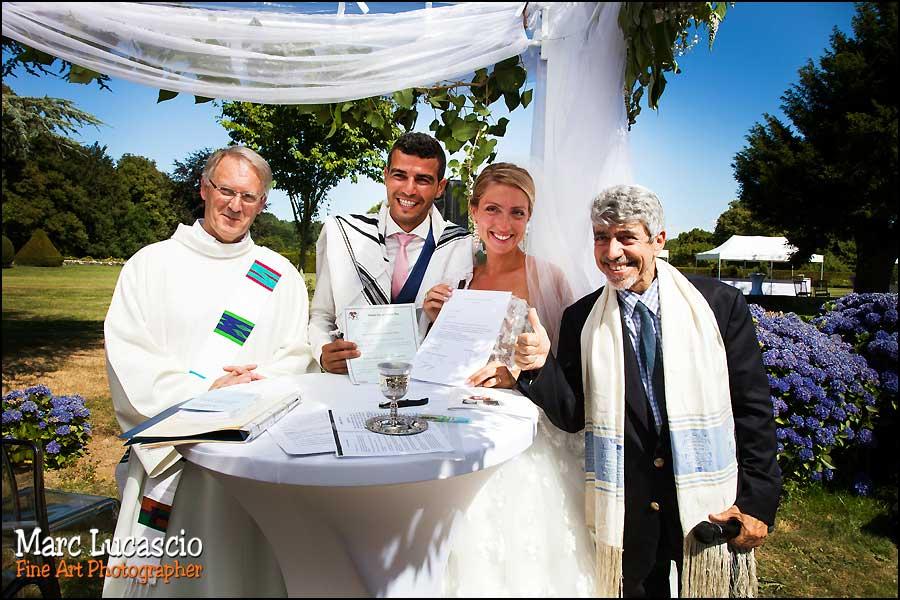 cérémonie mariage mixte juive catholique