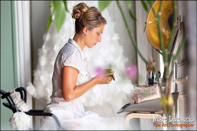 mariage juif maquillage mariee