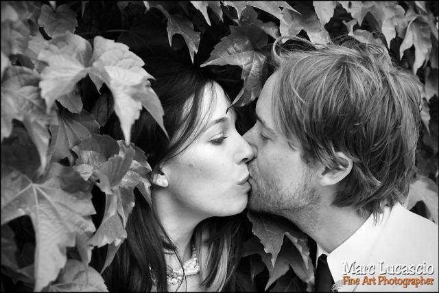 Portrait de mariage à Giverny