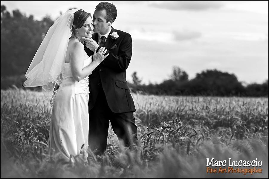 Portrait du couple en noir et blanc