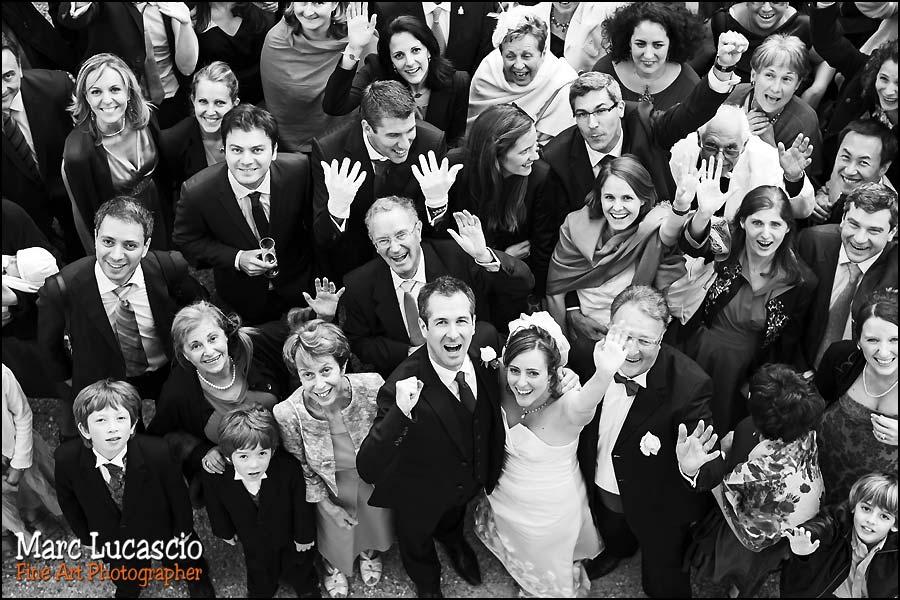 photo de groupe générale mariage juif
