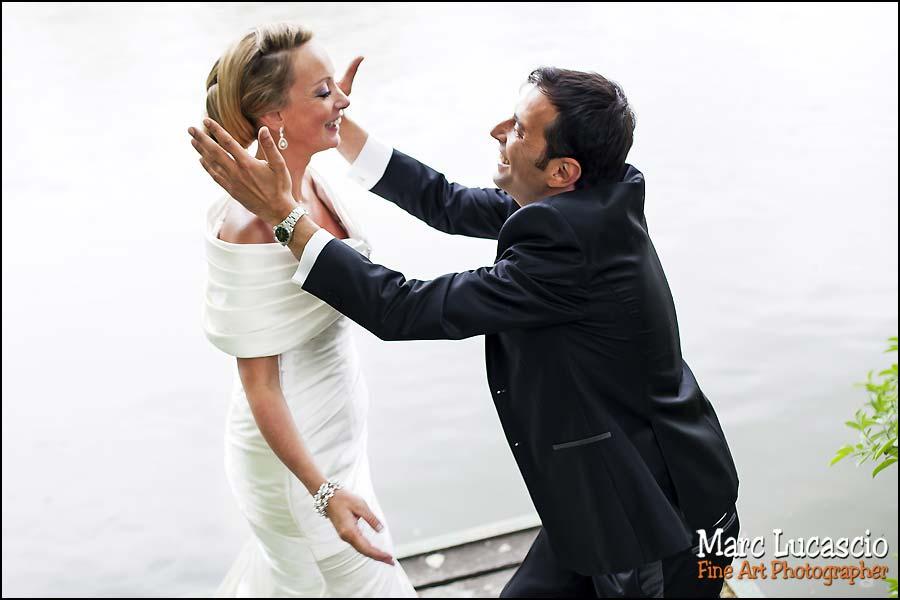 photos de couple d'un mariage juif