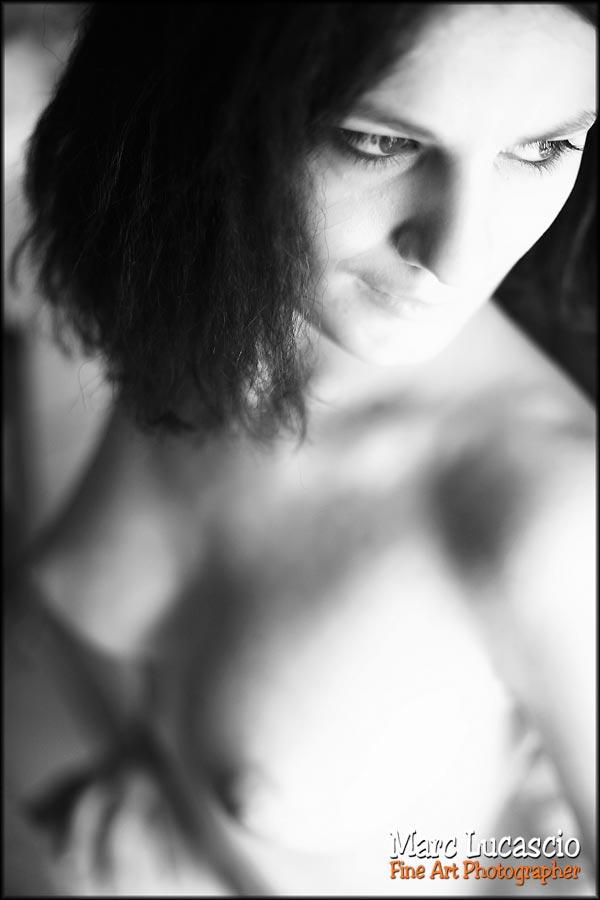 portrait charme et image sensuelle