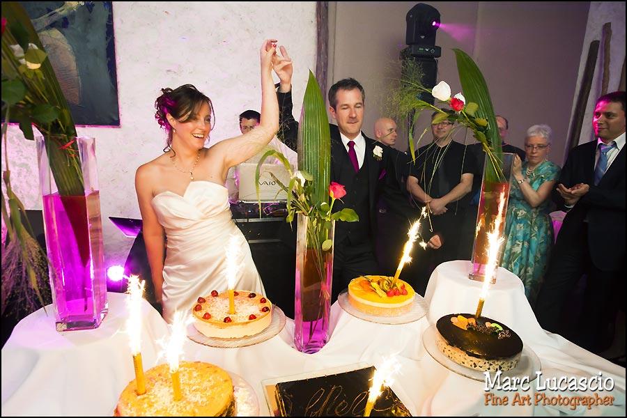 Gâteau mariage juif au domaine de Quincampoix
