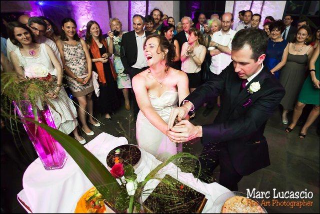 champagne mariage juif, ouverture de la bouteille
