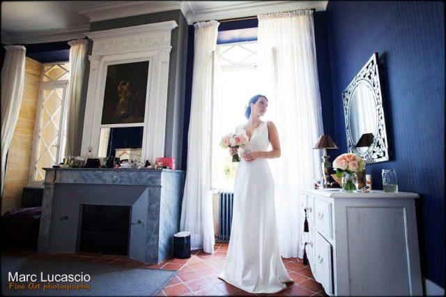 Préparation du mariage à Saint Emilion
