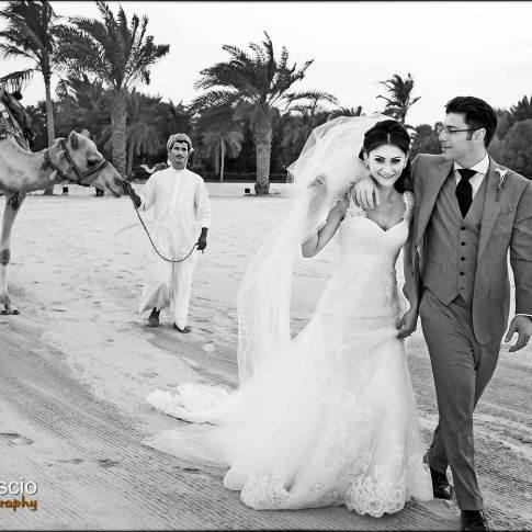 Mariage sur la plage d'Abu Dhabi